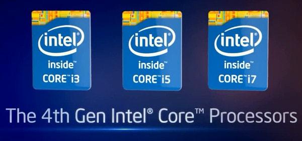 لپ تاپ استوک - نسل های یک تا چهار CPU اینتل