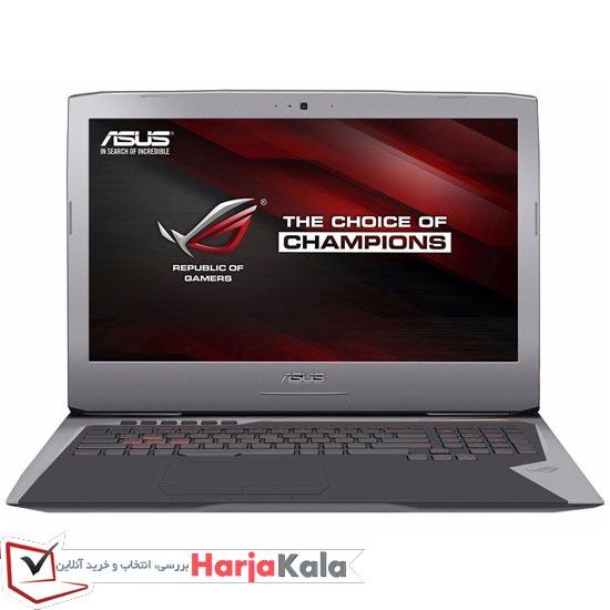 لپ تاپ استوک ایسوس گیمینگ ASUS ROG G752VL - لپ تاپ دست دوم گیمینگ