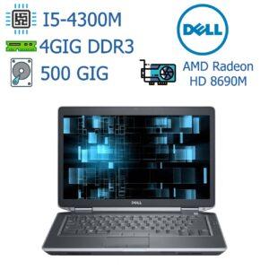 لپ تاپ استوک DELL مدل Latitude E6440 I5