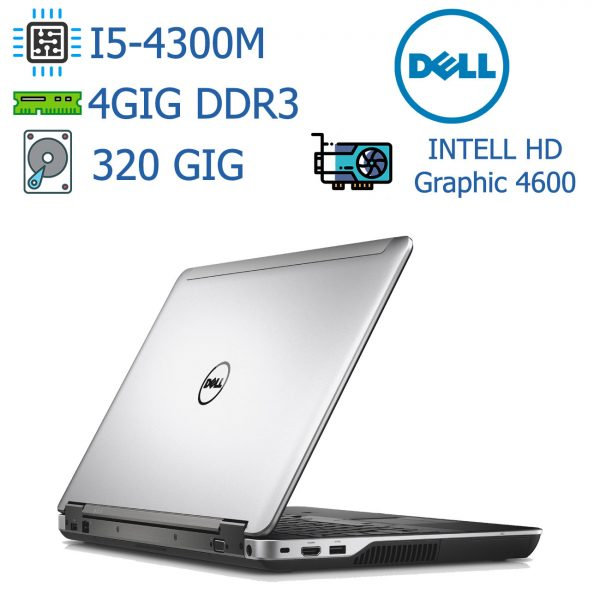 لپ تاپ استوک دست دوم ارزان DELL مدل Latitude E6540-i5 - مناسب برنامه نویسی و طراحی وب