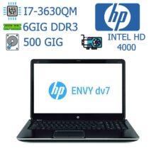 لپ تاپ استوک HP مدل ENVY DV7
