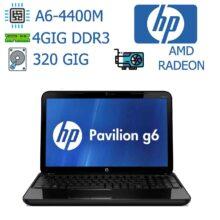 لپ تاپ کارکرده HP مدل PAVILION G6