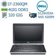 لپ تاپ استوک DELL مدل Latitude E6420