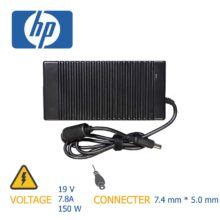 شارژر لپ تاپ اچ پی ۱۹V 7.8A 150W 7.4*5.0mm