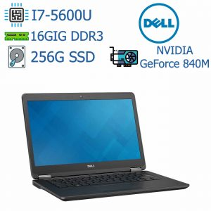 لپ تاپ استوک DELL مدل Latitude E7450 I7