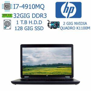 لپ تاپ استوک HP مدل ZBOOKG2