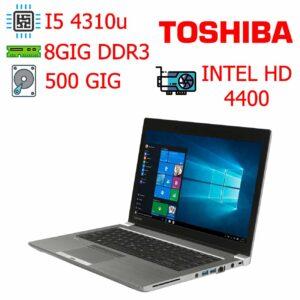 لپ تاپ استوک TOSHIBA مدل TECRA