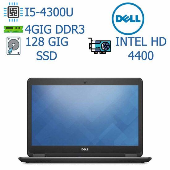 لپ تاپ استوک DELL مدل Latitude E7240