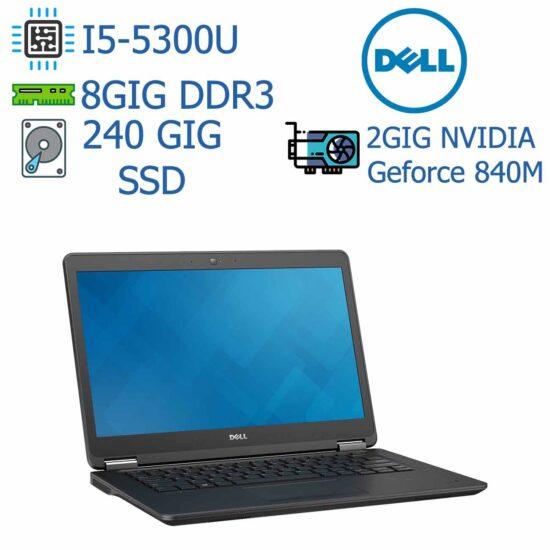 لپ تاپ استوک DELL مدل Latitude E7450