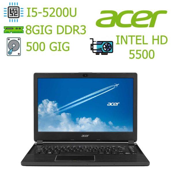 مشخصات قیمت و خرید لپ تاپ استوک Acer Travelmate P446 - لپتاپ ارزان - هرجاکالا