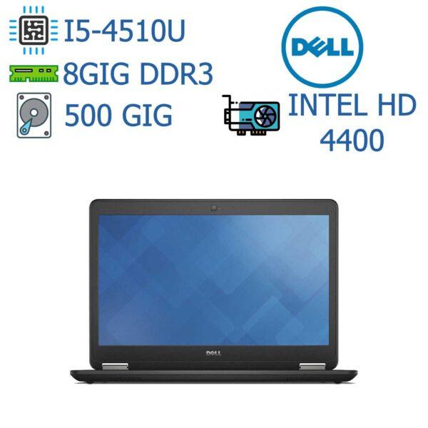 لپ تاپ استوک دست دوم ارزان DELL مدل Latitude E7440 I5