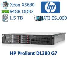 سرور استوک HP مدل ProLiant DL380 G7