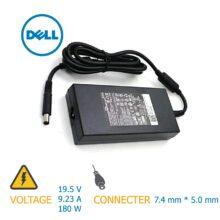شارژر لپ تاپ ۱۸۰w 19.5v*9.23A 7.4mm*5.0mm DELL