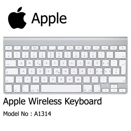 کیبرد بلوتوثی اپل مدل A1314 - کیبرد وایرلس Apple مدل A1314