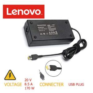شارژر لپ تاپ ۱۷۰w 20v*8.5A USB LENOVO