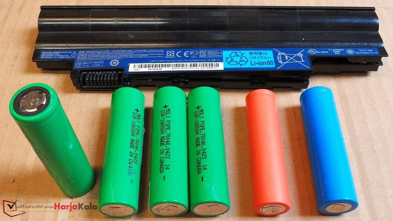 باتری لپ تاپ - باتری نوت بوک - بهرامی مارکت