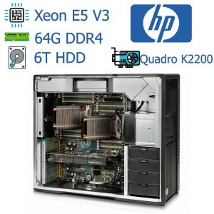 سرور استوک Hp Workstation Z840