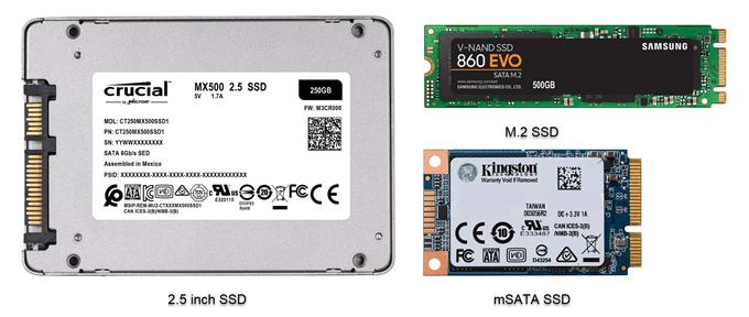 ویندوز 10 بهتر است یا ویندوز 8.1 - حافظه SSD