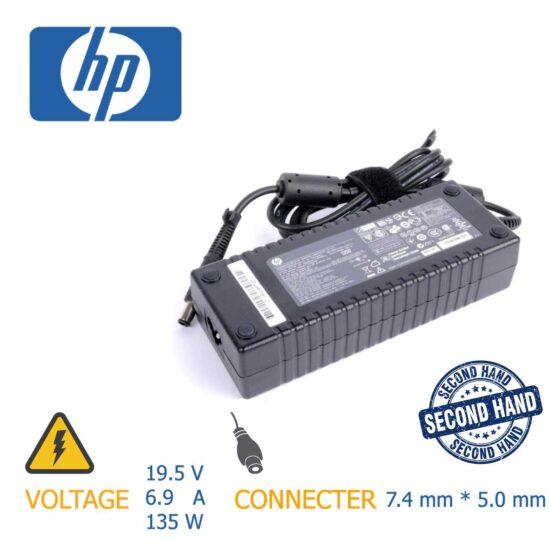شارژر لپ تاپ HP 135w 19.5v 6.9A 7.4mm 5.0mm