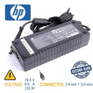 شارژر لپ تاپ HP 135w 19.5v 6.9A 7.4mm*5.0mm