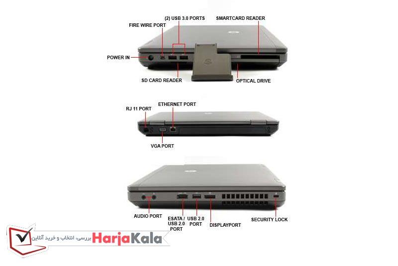 لپ تاپ استوک ارزان دانش آموزی HP مدل 6470B