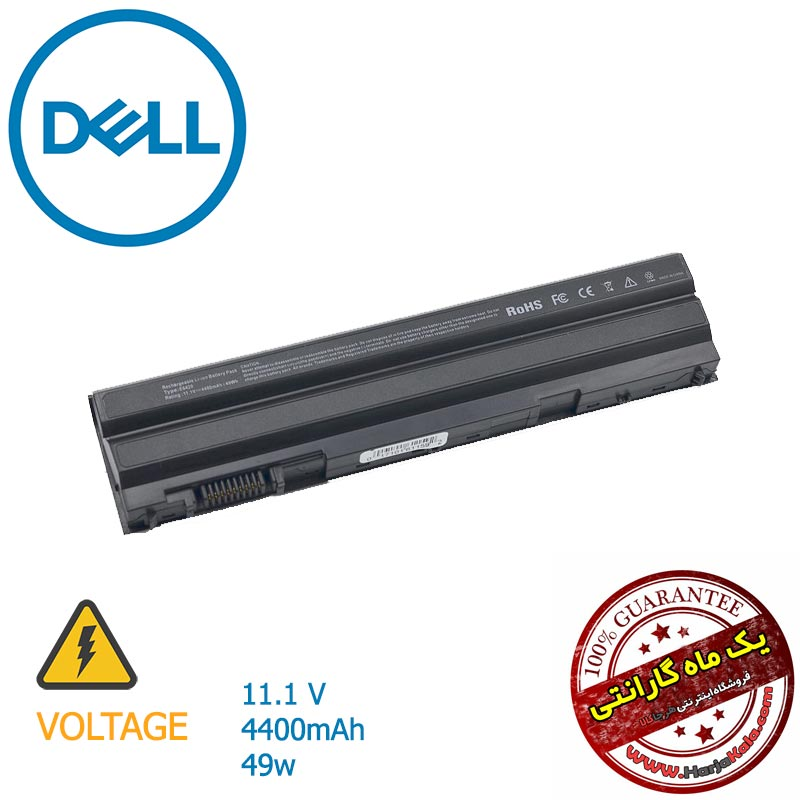 مشخصات قیمت خرید باتری لپ تاپ DELL مدل Latitude E5430