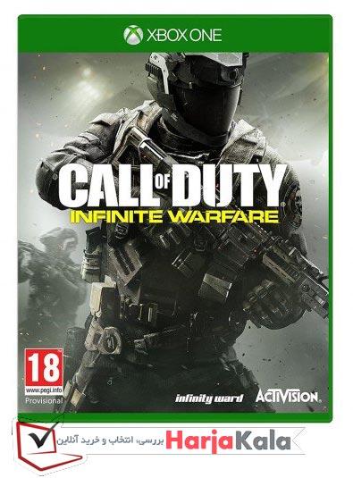 بازی CALL OF DUTY - INFINITE WARFARE کنسول XBOX