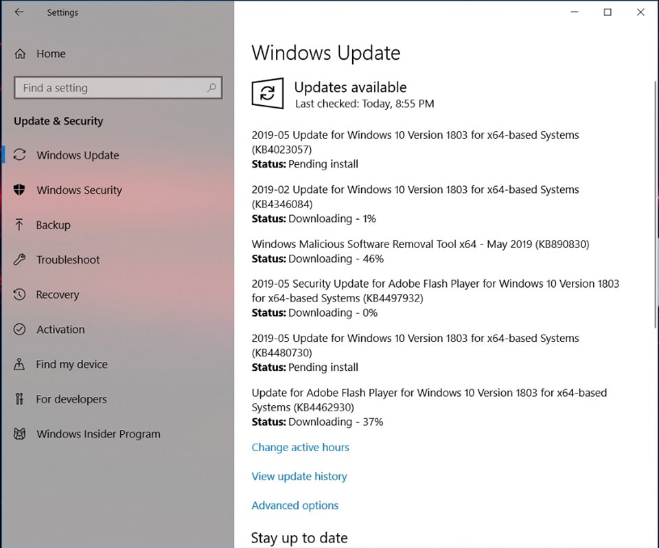 Harjakala Windows Update Pic6