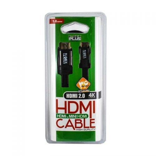کابل HDMI2.0 to Micro HDMI کی نت پلاس 1.8 متری