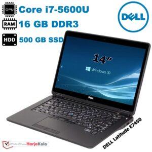 لپ تاپ استوک وارداتی DELL مدل Latitude E7450-B