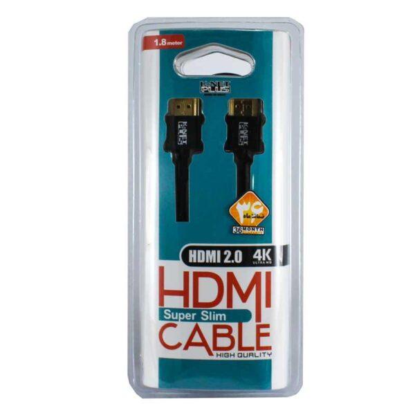 کابل HDMI کی نت پلاس 1.8 متری