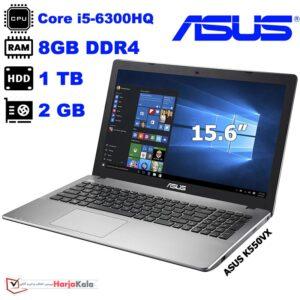لپ تاپ استوک ایسوس مدل ASUS K550VX