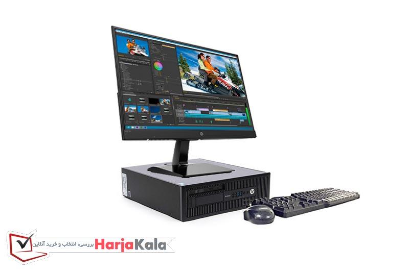 مینی کیس وارداتی ارزان HP ProDesk 600G1 - کیس دست دوم اداری کوچک اچ پی