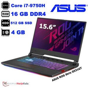 لپ تاپ گیمینگ ایسوس ASUS ROG Strix G531GT