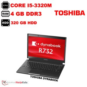 لپ تاپ استوک TOSHIBA-DYNABOOK-R732